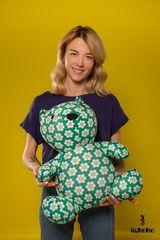 Подушка-игрушка антистресс «Сотовый медведь» 2