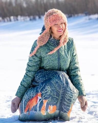 Восхитительная Татьяна в пальто