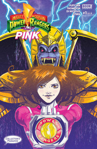 Power Rangers PINK #1 с автографом Меган Хатчинсон