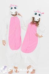 Пижама-кигуруми Футужама Розовый единорог