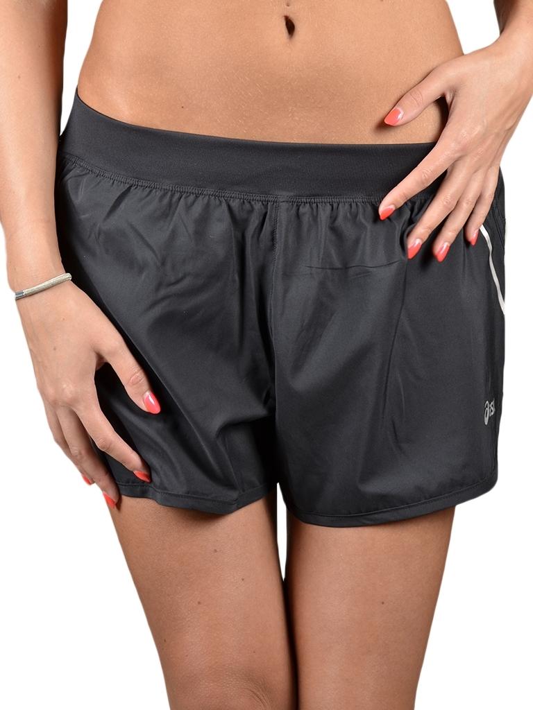 Женские беговые шорты Asics Woven Short (110428 0904) черные фото