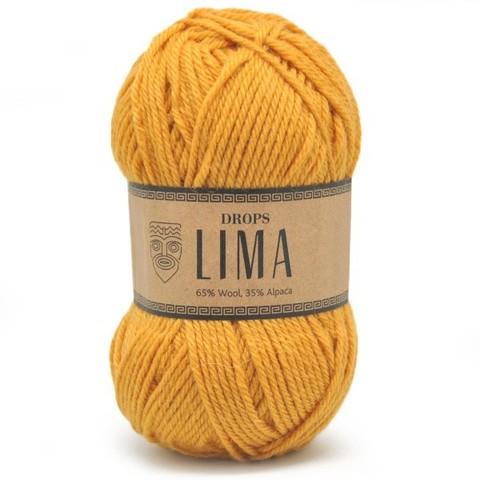 Пряжа Drops Lima 2923 горчица