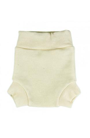 Однослойные пеленальные штанишки (L, Экрю)