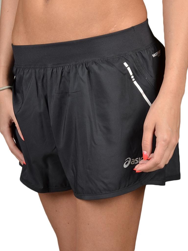 Женские спортивные шорты Asics Woven Short (110428 0904) черные фото