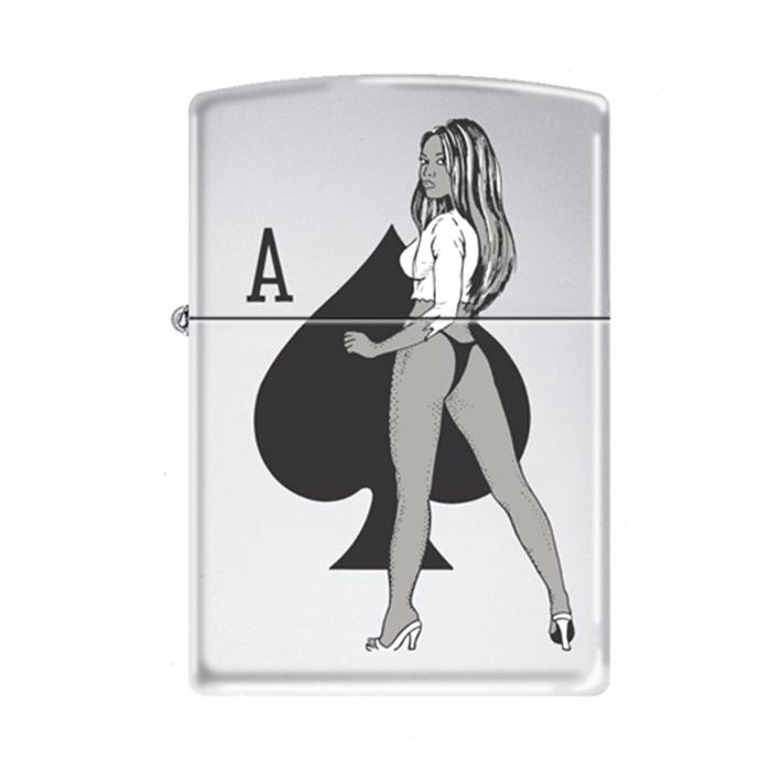 Зажигалка Zippo №250 Girl/Spade