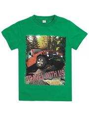 BK003-24 футболка детская, зеленая