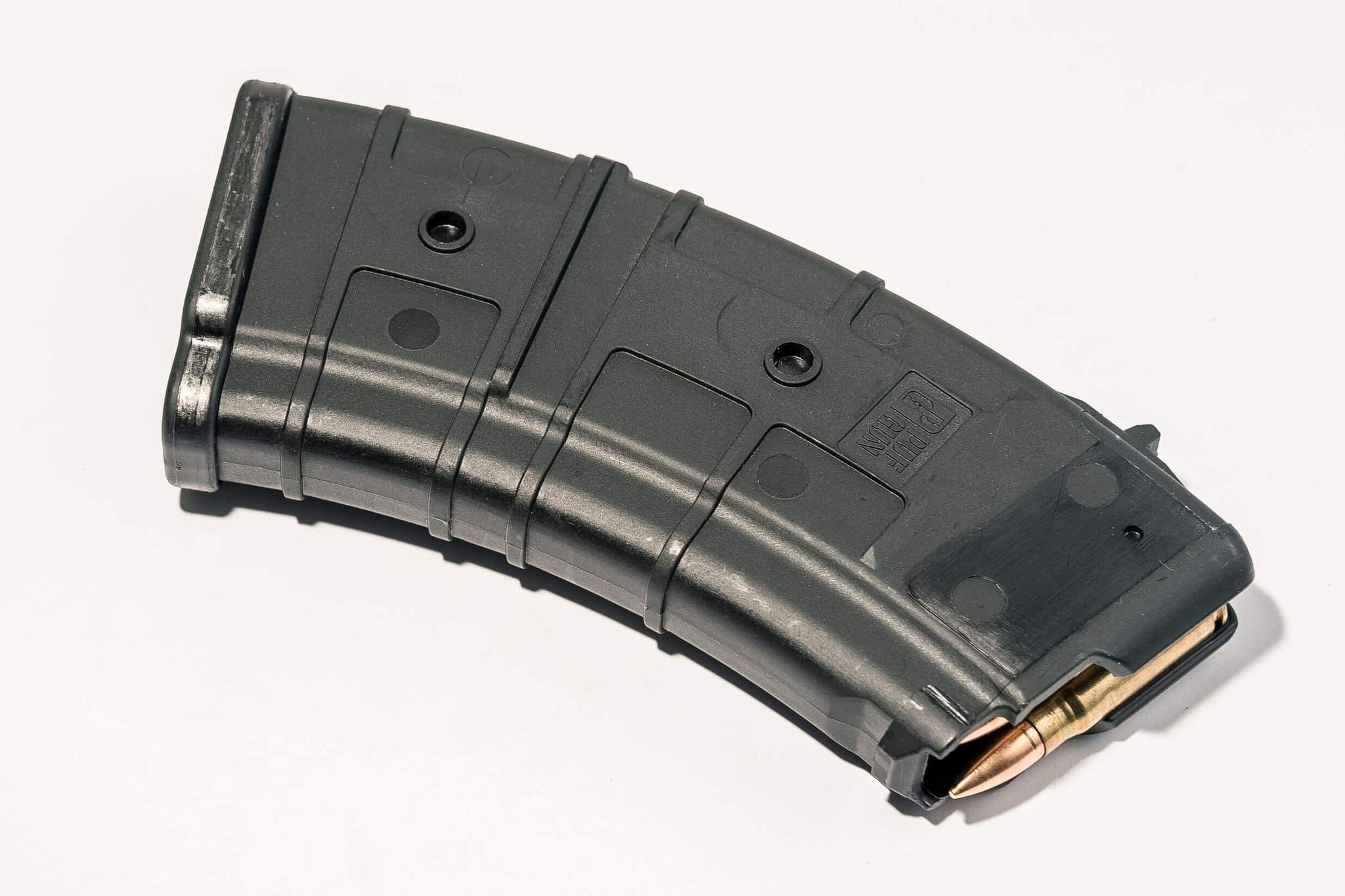 Магазин Pufgun для АКМ (7.62x39) ВПО-136 ВПО-209 на 20 Gen2, черный