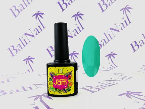 TNL Гель-лак Summer Jam 08 - неоновый светло-бирюзовый, 10 мл