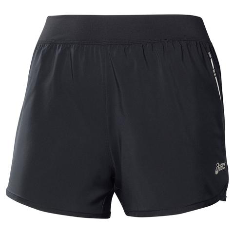 Женские шорты для бега Asics Woven Short (110428 0904) черные фото