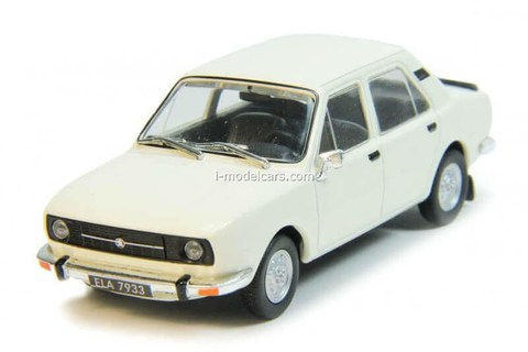 Skoda 105 white 1:43 DeAgostini Auto Legends USSR #195