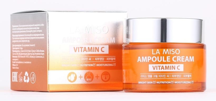 Ампульный крем с витамином С La Miso ampoule cream vitamin C