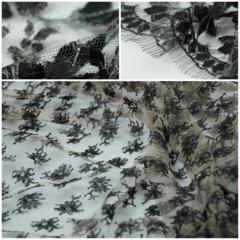 Кружевное полотно RM Poudre/Noir