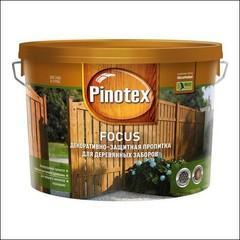 Древозащитное средство для защиты заборов Pinotex FOCUS (зеленый лес)
