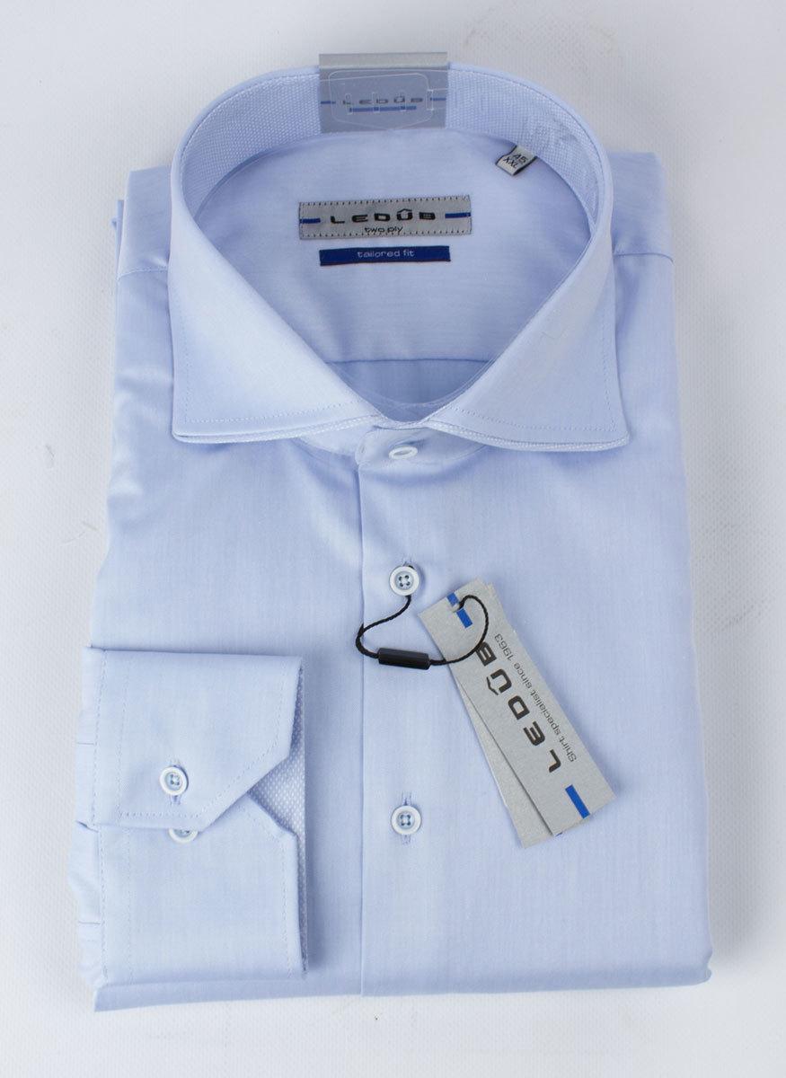 Рубашка Ledub tailored fit 0135785-120-120-910-TF-Blue