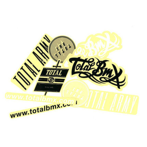 Набор наклеек TOTAL BMX Sticker Pack