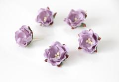 Цветы яблони из бумаги 2,5 см, 1 шт.