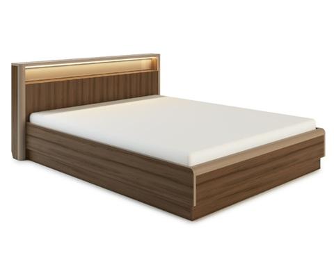 Кровать ИРАКЛИЯ-1400 с подсветкой и подъемным механизмом