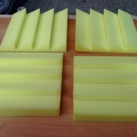 Акустический поролон Echoton Aura 300 (4шт) желтый - 1 компл.