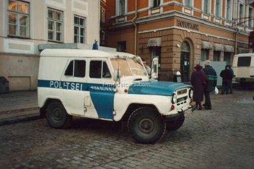 UAZ-469 Politsei Estonia 1:43 DeAgostini World's Police Car #74