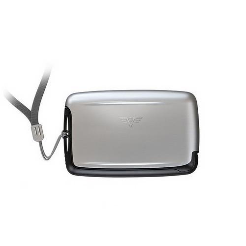 Шнурок на шею для визитницы PEARL, цвет черный, 89*1.5 см