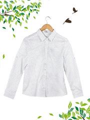21095 рубашка женская, белая