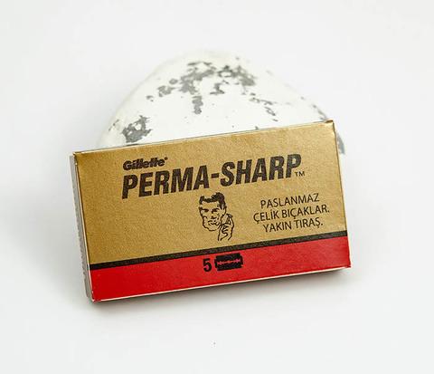 RAZ380 Упаковка из 5 лезвий для станка PERMA SHARP