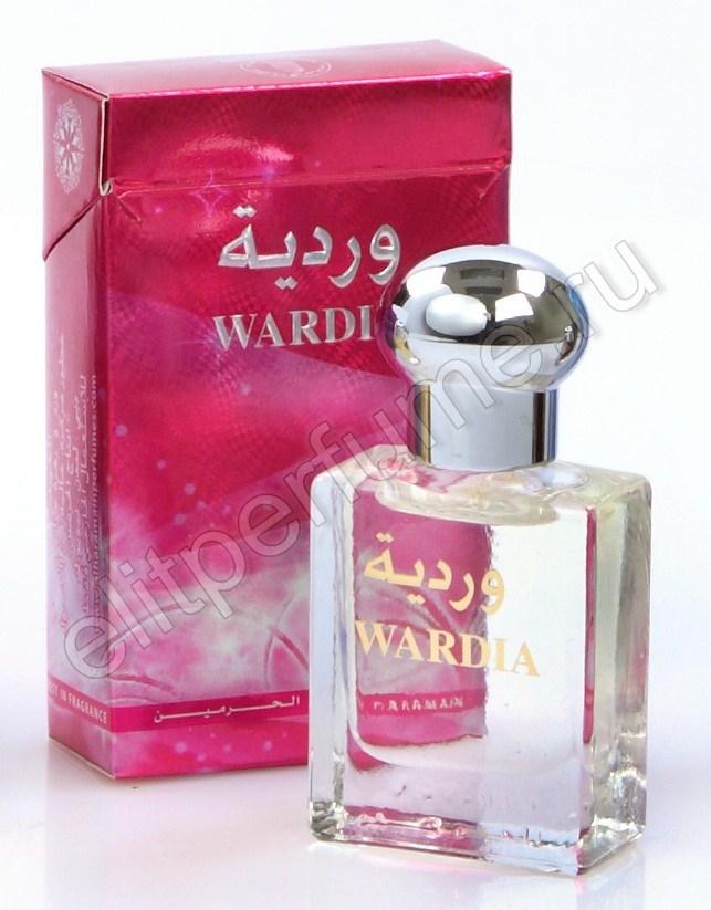 Пробники для духов Вардия Wardia 1 мл арабские масляные духи от Аль Харамайн Al Haramin Perfumes