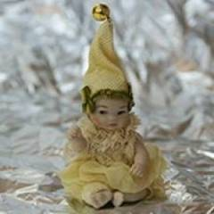 Кукла фарфоровая коллекционная Marigio Гномы