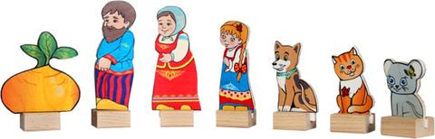 Краснокамская игрушка набор персонажи сказки Репка