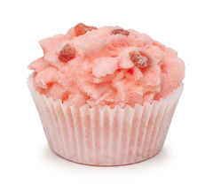 Десерт для ванны Клубника со сливками, 50g ТМ Мыловаров