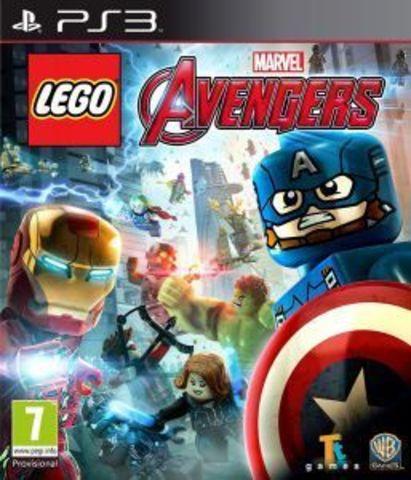 Sony PS3 LEGO Marvel Мстители (русские субтитры)