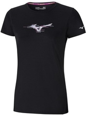 Футболка беговая Mizuno Impulse Core Graphic Tee женская
