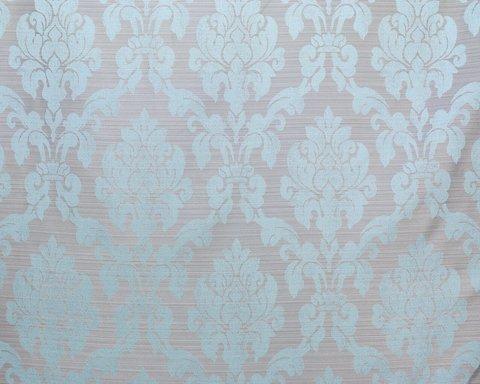 Портьерная ткань жаккард Афродита голубой