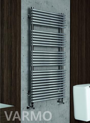 Varmo E - электрический полотенцесушитель цвета хром