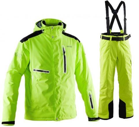 Мужской горнолыжный костюм 8848 Altitude Sason/Base 67 (lime)