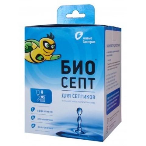 Биоактиватор БиоСепт 600 для септиков и выгребных ям (24 пакетика)