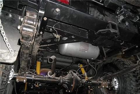 Установка пневносистемы и воздушного компрессора фото-2