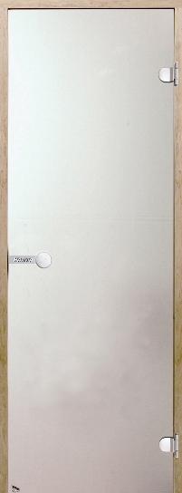 Дверь Harvia STG 7×19 коробка ольха, стекло сатин, фото 1