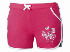 Y30-6 шорты женские, малиновые