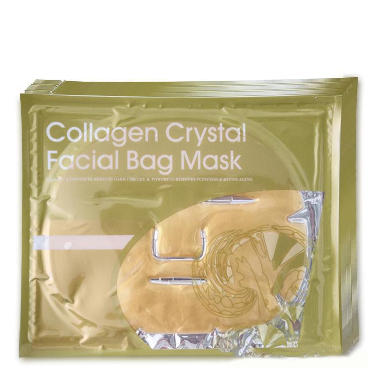 Crystal Mask Коллагеновая маска с нанозолотом