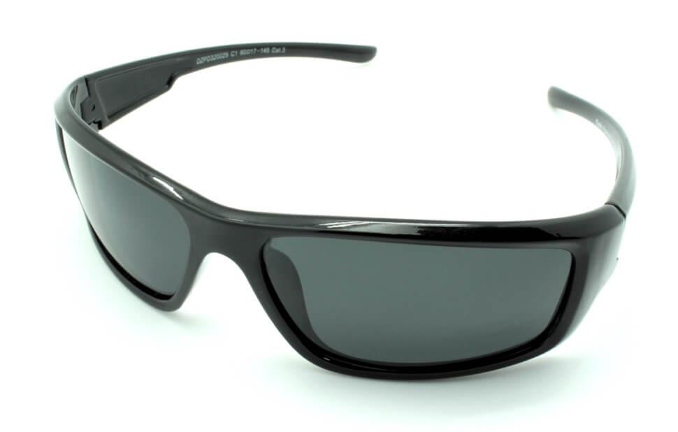 Очки поляризационные для рыбаков туристов водителей DARIO DZP320025C1 серые 11%