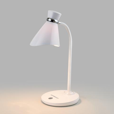 Настольный светильник с выключателем 01077/1 белый