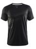 Мужская спортивная футболка Craft Gain Training 1904556-9999 черная | Интернет-магазин Five-sport