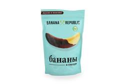 Банан сушеный в шоколадной глазури Banana Republic, 200г