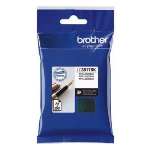 Чернильный картридж Brother LC3617BK для MFCJ3530/3930 черный (550 стр)