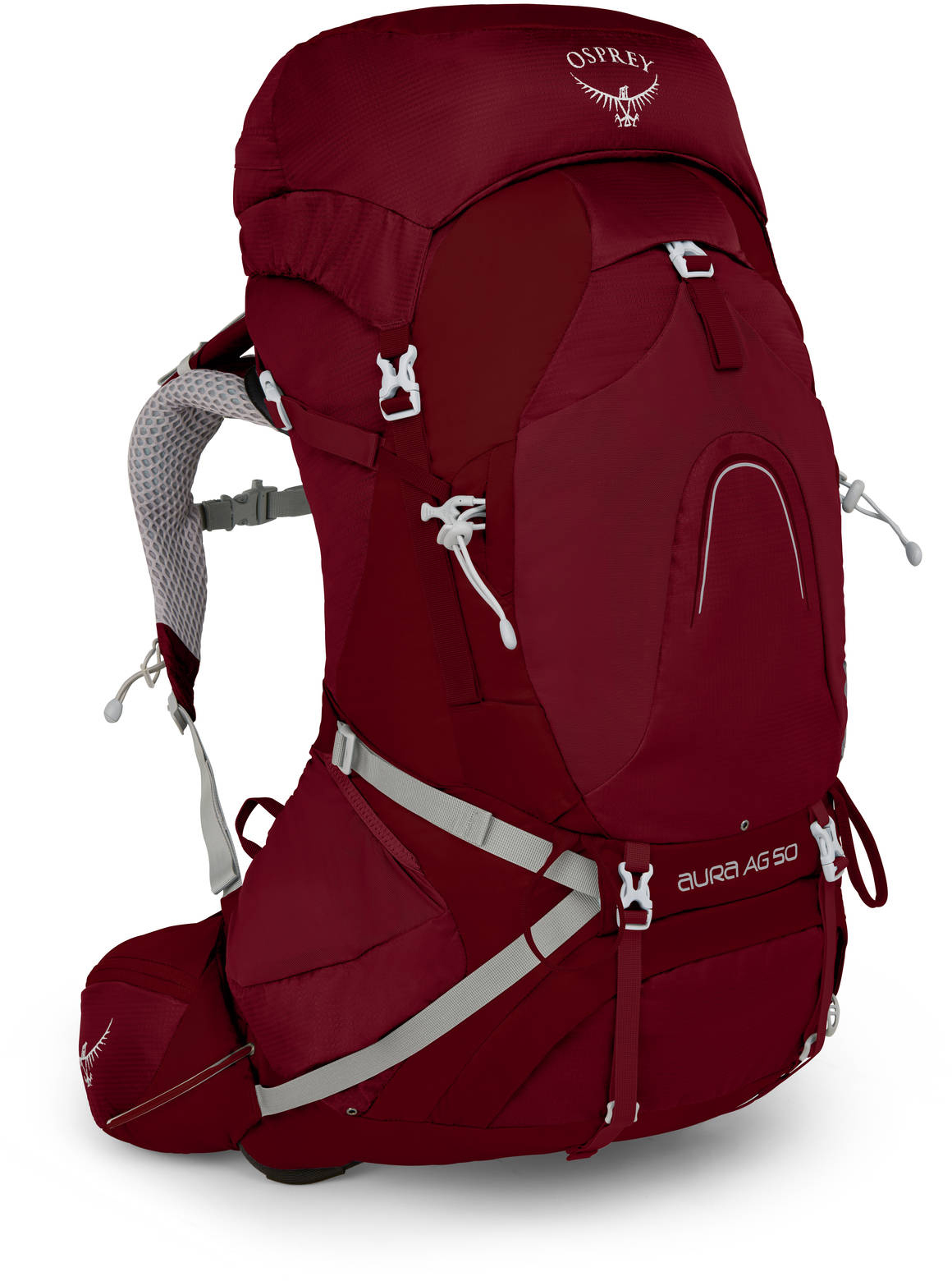 Туристические рюкзаки Рюкзак женский Osprey Aura AG 50 Women's Gamma Red W/M Aura_AG_50_S18_Side_Gamma_Red_web.jpg