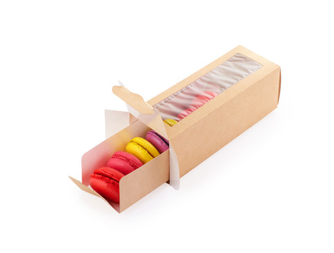 Коробка для 6 макарон