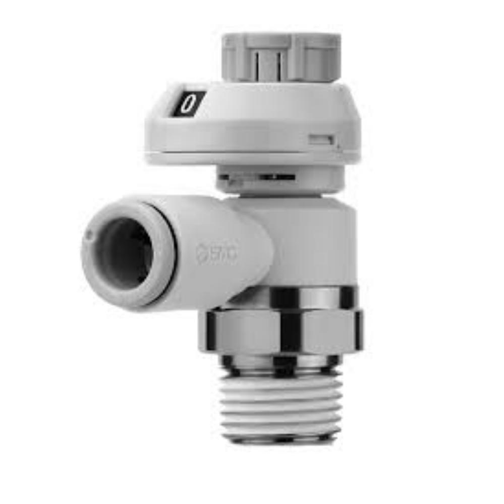AS2201FS-01-10S   Дроссель с обратным клапаном, R1/8