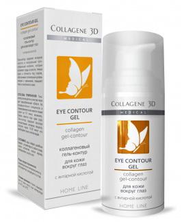 Коллагеновый гель-контур для области вокруг глаз EYE CONTOUR GEL, Medical Collagene 3D
