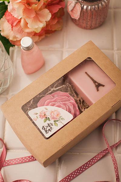 Коробка для мыла на три куска